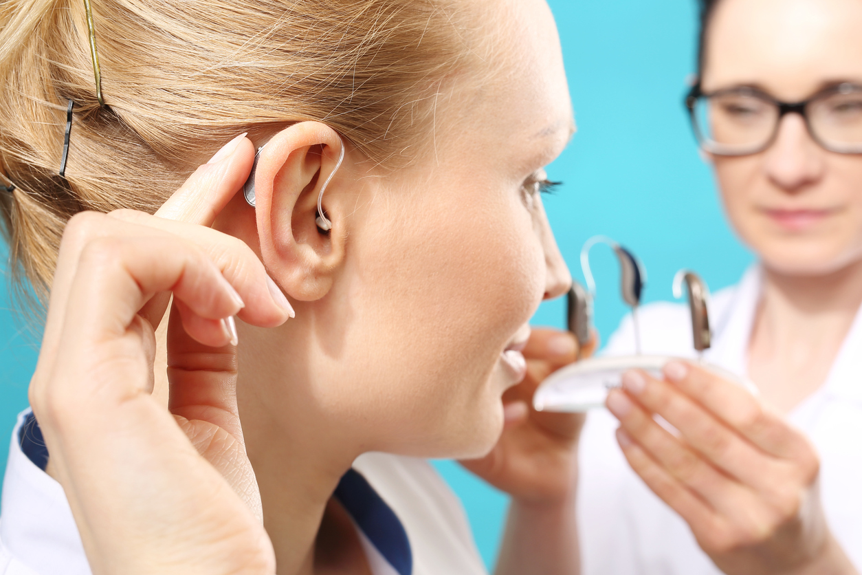 Hearing aid fitting appointment