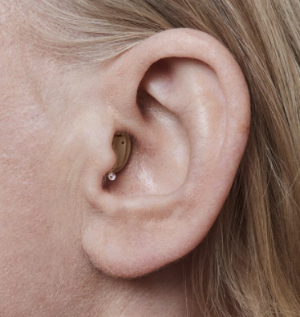 Completely-in-canal hearing aids